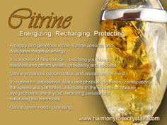 Citrine, love this crystal