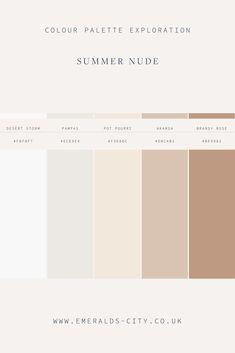 Pantone Colour Palettes, Pantone Color, Taupe Color Palettes, Summer Color Palettes, Aesthetic Colors, Beige Aesthetic, Colour Pallette, Colour Schemes, Paint Colors For Home