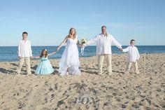 Ocean City Maryland is a family friendly beach wedding destination - Rox Photography:  https://www.roxbeachweddings.com/