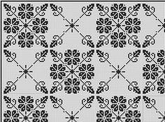 This Pin was discovered by Нат Thread Crochet, Filet Crochet, Crochet Motif, Crochet Stitches, Blackwork Patterns, Blackwork Embroidery, Needlepoint Patterns, Weaving Patterns, Lace Patterns