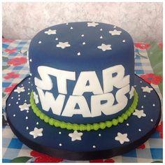 Bolo Star Wars #bolo #cake #confeitaria #pastaamericana #bolomesversario #starwars