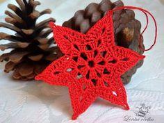 Ela Klementowicz's 860 media content and analytics Crochet Applique Patterns Free, Crochet Snowflake Pattern, Crochet Lace Edging, Crochet Stars, Christmas Crochet Patterns, Crochet Snowflakes, Holiday Crochet, Granny Square Crochet Pattern, Christmas Knitting