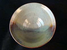 Handy Clay Creations Wheel Thrown Stoneware Shenandoah Ceramic Bowl. Inspired by the Blue Ridge Mountains of Virginia