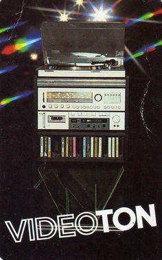VIDEOTON – 1983 Radios, Mechanical Calculator, Crt Tv, Audio Rack, Beautiful Women Quotes, 1970s Childhood, Tape Recorder, Hifi Audio, Boombox