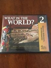 History Revealed: What in the World? Volume 4 Audio CDs