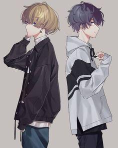 Funny anime couples kawaii 45 Ideas for 2019 Hot Anime Boy, Anime Boys, Cool Anime Guys, Chica Anime Manga, Manga Boy, Kawaii Anime, Anime Art, Kawaii Girl, Anime Boy Drawing