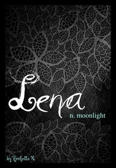 Baby Girl Name: Lena. Meaning: Moonlight. Origin: Greek; Irish. http://www.pinterest.com/vintagedaydream/baby-names/