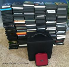 DVD Storage solution in 18 DIY Crafts & Upcycles for DVD Cases by Debra Kristi, author