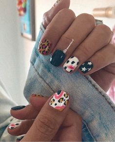 Love Nails, Pink Nails, Pretty Nails, Summer Acrylic Nails, Cute Acrylic Nails, Nail Desighns, Smart Nails, Nail Candy, Manicure Y Pedicure