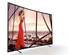 Thomson A87 : nouvelle série de TV Edge LED Ultra HD au design incurvé