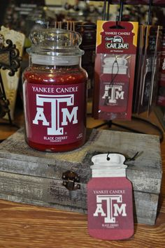 You need to try A&M's Yankee Candle! It smells delicious!