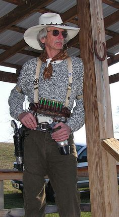 Cowboy Action Shooting 43 3 3-7-09 by goatmanbaldy - Proud Extremist Right Wing Wacko, via Flickr