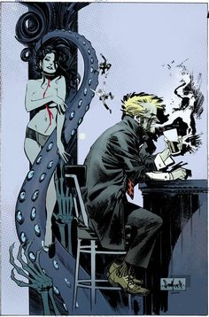 Hellblazer COD cover 5 colors by seangordonmurphy on deviantART