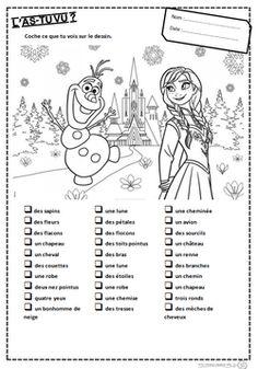 L'as-tu vu?, reine des neiges, lecture, compréhension, comprendre, mots, lire, lecture, GS, CP, cycle 2, dixmois
