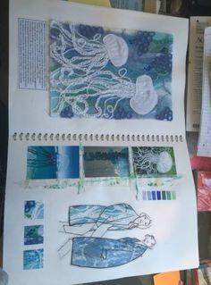 ideas fashion sketchbook pages portfolio layout for 2019 Fashion Design Books, Fashion Design Sketchbook, Fashion Design Portfolio, Fashion Books, Fashion Art, Fashion Textiles, Fashion Ideas, Book Design, Trendy Fashion