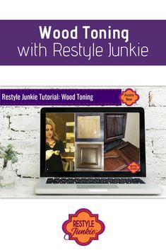Learn how to tone your kitchen or bathroom cabinets like pro with General Finishes Water-Based Wood Stains. This video has nearly 60 minutes of demonstration and instruction to ensure your successful and durable DIY project.  Wood Toning   Restyle Junkie   #WoodToning   #KitchenCabinetMakeover   #BathroomCabinetRemodel   #GeneralFinishes   #WoodStain   #DIYproject Rustic Toilet Paper Holders, Bathroom Toilet Paper Holders, Glazing Furniture, Water Based Wood Stain, Reclaimed Wood Mirror, Wood Screen Door, Rustic Ladder, Personalized Towels, General Finishes