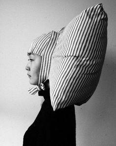 Geared up _ Pillowig by Joo Youn Paek