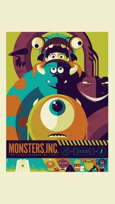 Monsters Inc.  poster