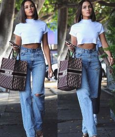 Look Hippie Chic, Modell Street-style, Stylish Outfits, Cute Outfits, Look Fashion, Fashion Outfits, Olivia Culpo, Elegantes Outfit, Mode Streetwear