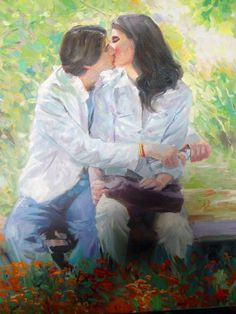 Evgeny Mukovnin 1976 | Russian Figurative painter | Tutt'Art ... www.pinterest.com236 × 314Buscar por imagen The kiss - Figurative painting Art Print on canvas