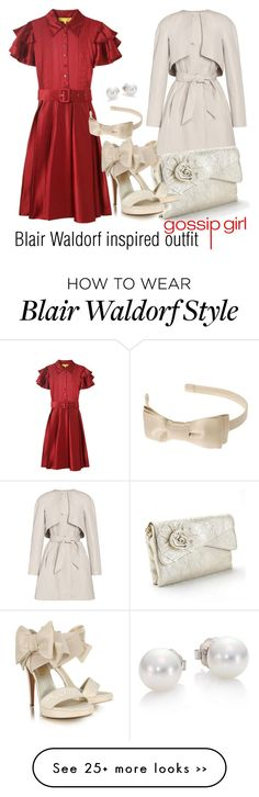 Designer Clothes, Shoes & Bags for Women Blair Fashion, Fashion Shows 2015, Gossip Girl Fashion, Cute Fashion, Womens Fashion, Blair Waldorf Outfits, Blair Waldorf Style, Chic Outfits, Spring Outfits