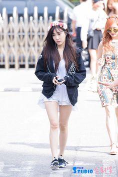 150710 SNSD Tiffany @ Music Bank