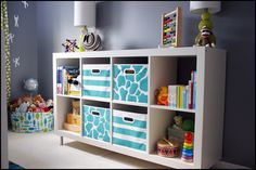 Chest and toy/book shelf:  IKEA's Hemnes and Expedit (+ legs).