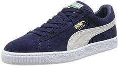 Puma Suede Classic – Sneakers Basses – Mixte Adulte – Bleu (Peacoat/White 51) – 38 EU (5 UK): Tweet Certainement le produit phare de la…