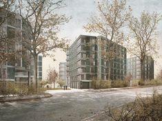 Urban Design, Architecture Design, Exterior, Building, Modern, Outdoor, Image, Facades, Snow