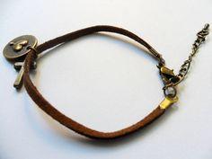 Vintage bronze Cross Adjustable Bracelet 267s by sevenvsxiao, $3.00