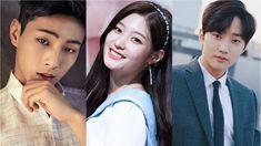 Ji Soo, Jinyoung e Jung Chaeyeon My First Love, Jinyoung, Kdrama, Ji Soo Actor, Sassy Go Go, Jung Chaeyeon, Ioi, Drama Movies, Movies Showing