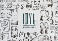 Elements of the Field by Russell Shaw, via Behance