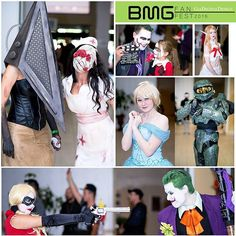 BMG Fan Fest 2016  #cosplay #harleyquinncosplay #joker #silenthill #newmexico…