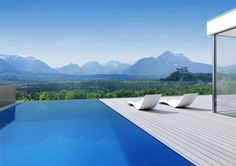 The Sky – Luxuswohnungen in Salzburg Aigen Porch And Terrace, Villa, Garden Park, Best Location, Outdoor Furniture, Outdoor Decor, Old Town, Sun Lounger, Relax