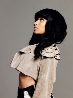 i think niki minaj looks way better when her hair looked like this no pink, no yellow, no blue.