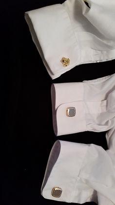 French cuff. Can wear only with cufflinks.  American Cuff shirt brand has regular cuff and American Cuff in one shirt.