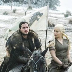 Game of Thrones Battle of the Bastards Jon Stark Banner Images Game Of Thrones: The 11 Biggest Reveals In Season 6 (Part Got Dragons, Mother Of Dragons, Winter Is Here, Winter Is Coming, Jon Snow Et Daenerys, Got Jon Snow, Game Of Thrones 1, Best Banner Design, I Love Games