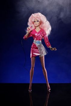 Jem (Classic Doll)   #Jem #JemAndTheHolograms #PinkDress #Jem #ShortPinkDress #OriginalJem #ClassicJem