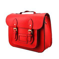 faux leather satchel cross body bag by ciel   notonthehighstreet.com