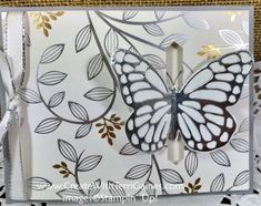 Springtime Foils Specialty Designer Series Paper Stampin' Up! Bold Butterfly Dies Butterfly Thinlits www.CreateWithTerriGaines.com