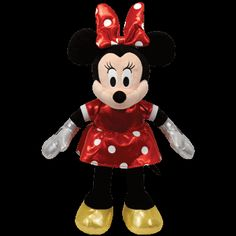 MINNIE MOUSE  in Ty Store Red, Pink or Purple, which Sparkle Minnie Mouse is your favorite?