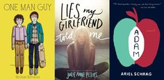 "A list of ten LGBT YA books to read published in 2014. Great selection with diverse characters and themes! Check out ""Everything Leads to You"" by Nina LaCour.-Jaimee."