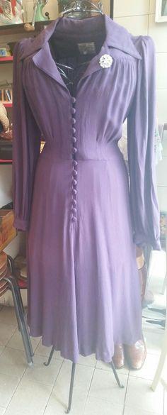 Vintage Ozzie Clark dress. #vintage #retro #vintageshop #aberdeen #vintagedress #ozzieclark
