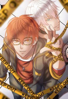 707, luciel, and mystic messenger 이미지