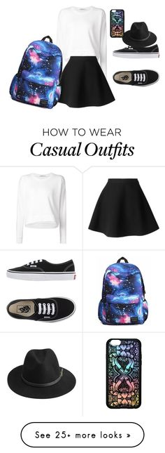 """""""My Casual Outfit"""" by cammms on Polyvore featuring moda, Alexander Wang, MSGM, Vans, BeckSöndergaard y Forever 21"""