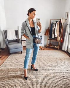 Business Outfits, Fall Outfits, Style Inspiration, Chic, My Style, Womens Fashion, Bags, Shopping, Clothes