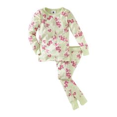 Falling Cherry Blossom Pajamas in  from Tea Collection on shop.CatalogSpree.com, your personal digital mall.