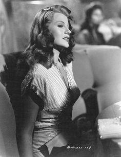 Rita Hayworth, Gilda, 1946.