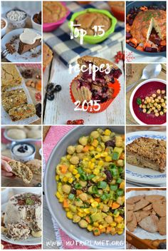 Top 15 Plant-Based Recipes 2015 | Nutriplanet