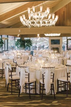 #chair-sash, #chair  Photography: Carlie Statsky Photography - carliestatsky.com  Read More: http://www.stylemepretty.com/california-weddings/2014/08/12/romantic-california-wedding-at-carmel-valley-ranch/